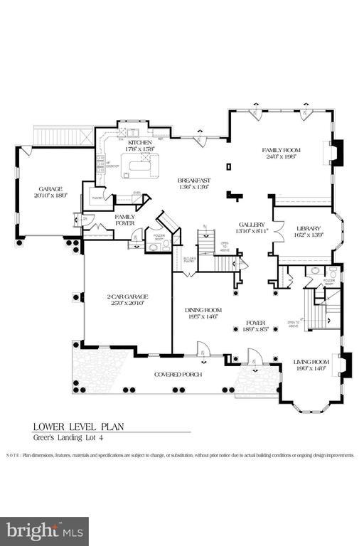 Main Level Floor Plan - 8183 PETERS RD, FREDERICK