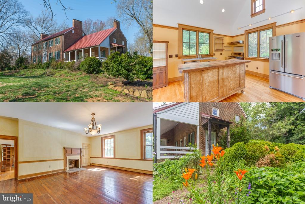Historic Main House - 16001 OLD WATERFORD RD, PAEONIAN SPRINGS