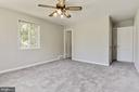 Master bedroom with ensuite on main level - 6315 22ND ST N, ARLINGTON