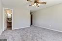 master bedroom on main level with ensuite - 6315 22ND ST N, ARLINGTON