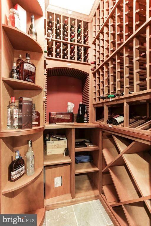 Wine Closet - 9106 DARA LN, GREAT FALLS