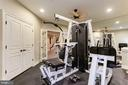 Fitness Room - 9106 DARA LN, GREAT FALLS