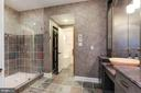 Bath with Steam Shower and Sauna - 9106 DARA LN, GREAT FALLS