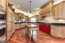 Gourmet Kitchen - 9106 DARA LN, GREAT FALLS