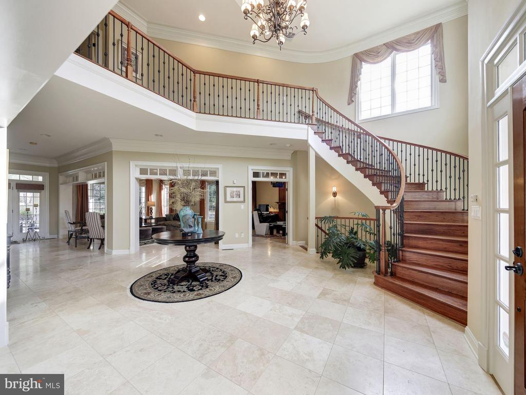 Main Staircase - 9106 DARA LN, GREAT FALLS