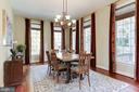 Breakfast Room for Informal Dining - 9106 DARA LN, GREAT FALLS
