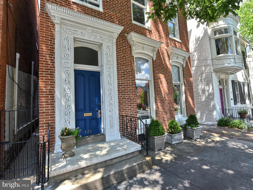 Exterior trim and door restored! - 121 W 2ND ST, FREDERICK