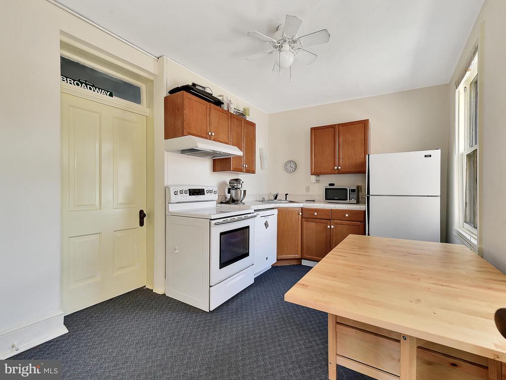 Apartment kitchen! - 121 W 2ND ST, FREDERICK