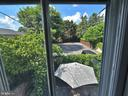 View from upstairs apartment! - 121 W 2ND ST, FREDERICK