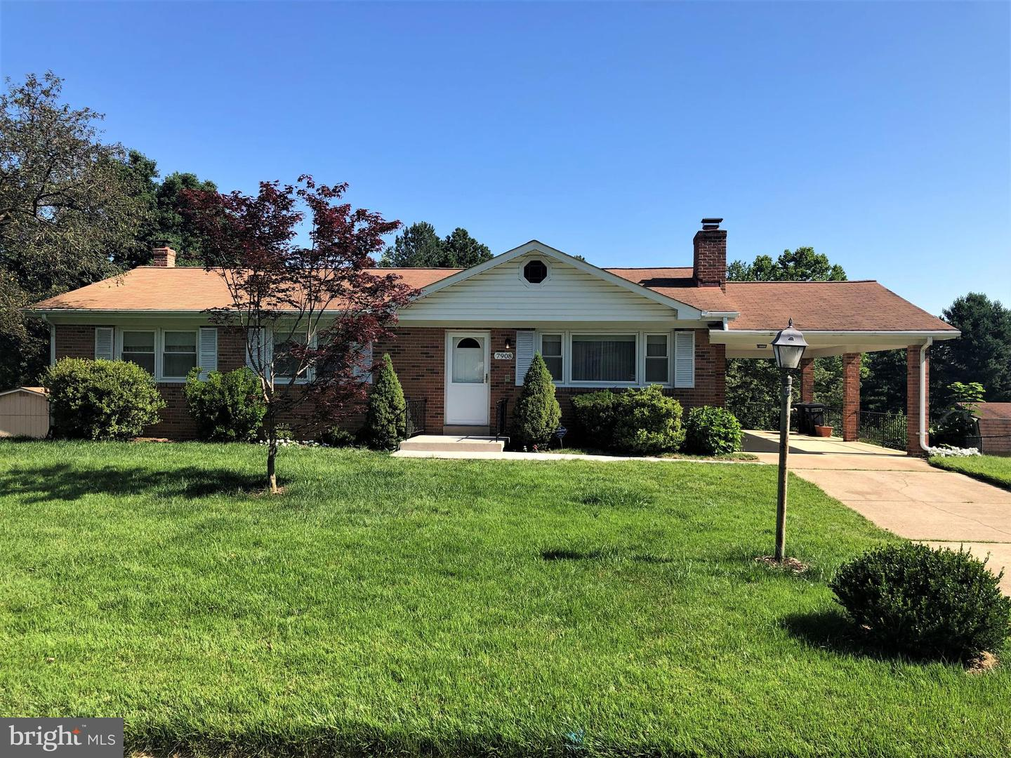 Single Family for Sale at 7908 Lusbys Turn Brandywine, Maryland 20613 United States