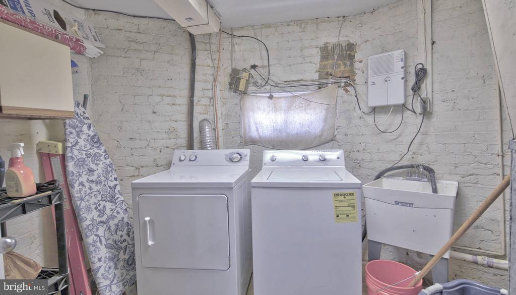 Laundry Room - 146 BRYANT ST NW, WASHINGTON