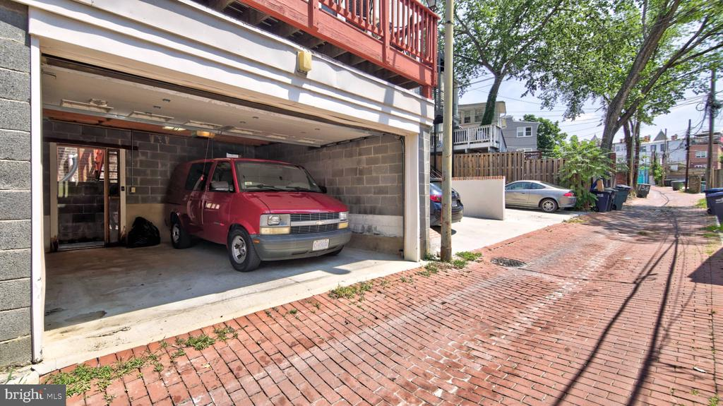 2 Car Garage - 146 BRYANT ST NW, WASHINGTON