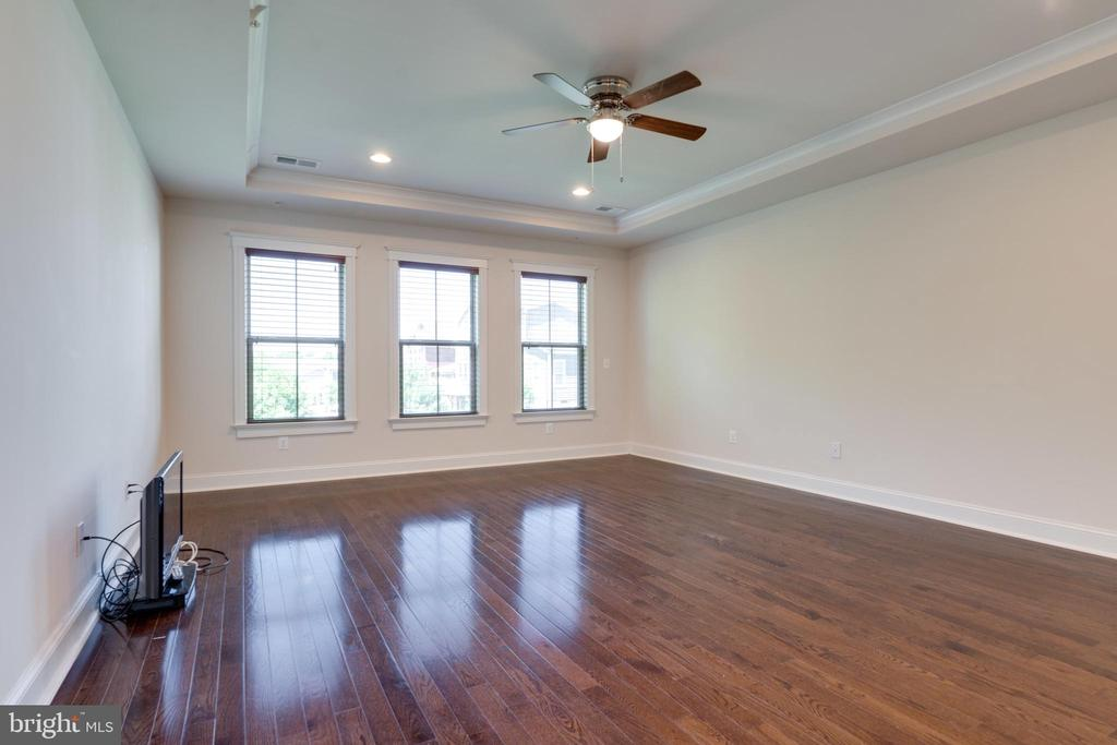 Master Bedroom, ceiling fan, - 2192 POTOMAC RIVER BLVD, DUMFRIES