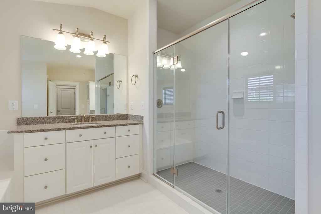 Master Bath, walk-in Shower - 2192 POTOMAC RIVER BLVD, DUMFRIES