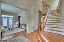 Welcoming Foyer - 17530 LETHRIDGE CIR, ROUND HILL