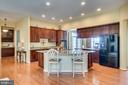 Kitchen - 17530 LETHRIDGE CIR, ROUND HILL