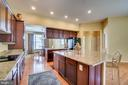Kitchen Island - 17530 LETHRIDGE CIR, ROUND HILL