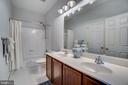 Hall Bathroom - 17530 LETHRIDGE CIR, ROUND HILL