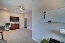 Home Office/Potential  Guest Suite - 17530 LETHRIDGE CIR, ROUND HILL