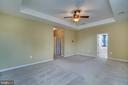 Master Bedroom - 17530 LETHRIDGE CIR, ROUND HILL