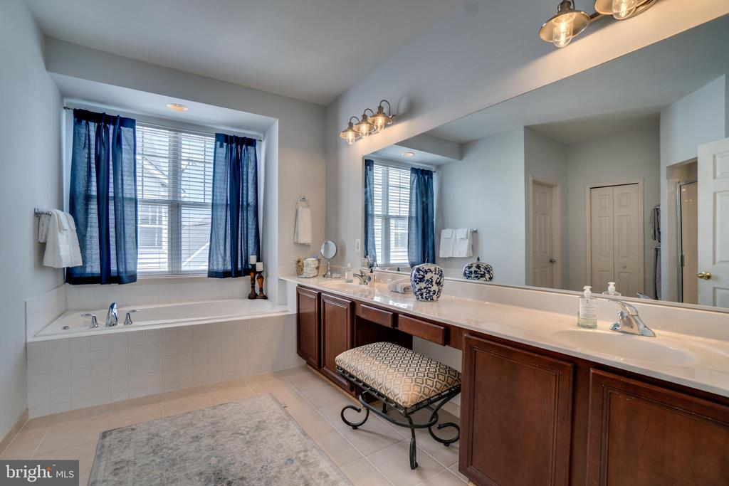 Master Bathroom - 17530 LETHRIDGE CIR, ROUND HILL
