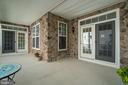 Covered Side Porch - 17530 LETHRIDGE CIR, ROUND HILL