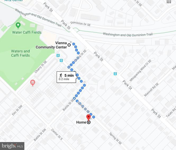 Just .2 mi walk to Vienna Community Center - 511 SPRING ST SE, VIENNA