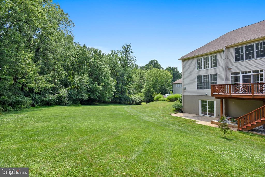 Private grassy common land - 8500 IDYLWOOD VALLEY PL, VIENNA