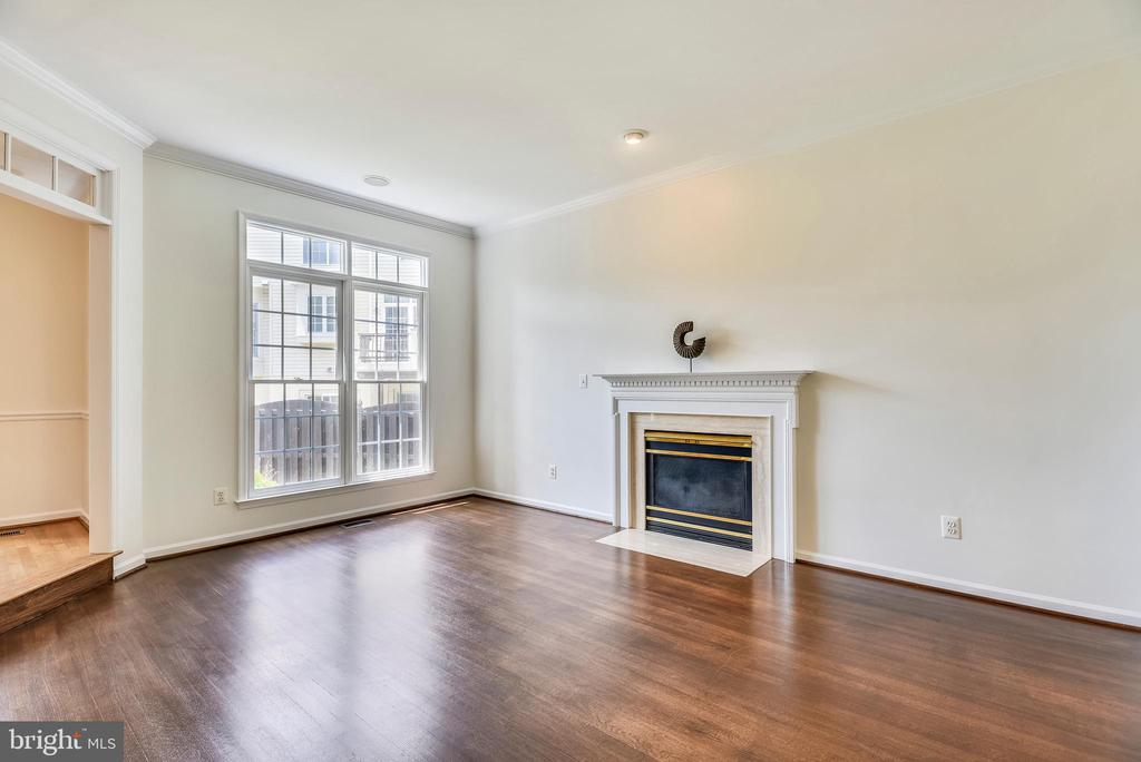 Gas Fireplace  in Living Room - 8500 IDYLWOOD VALLEY PL, VIENNA