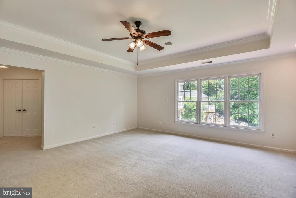 Master Bedroom  suite with walk in closets - 8500 IDYLWOOD VALLEY PL, VIENNA
