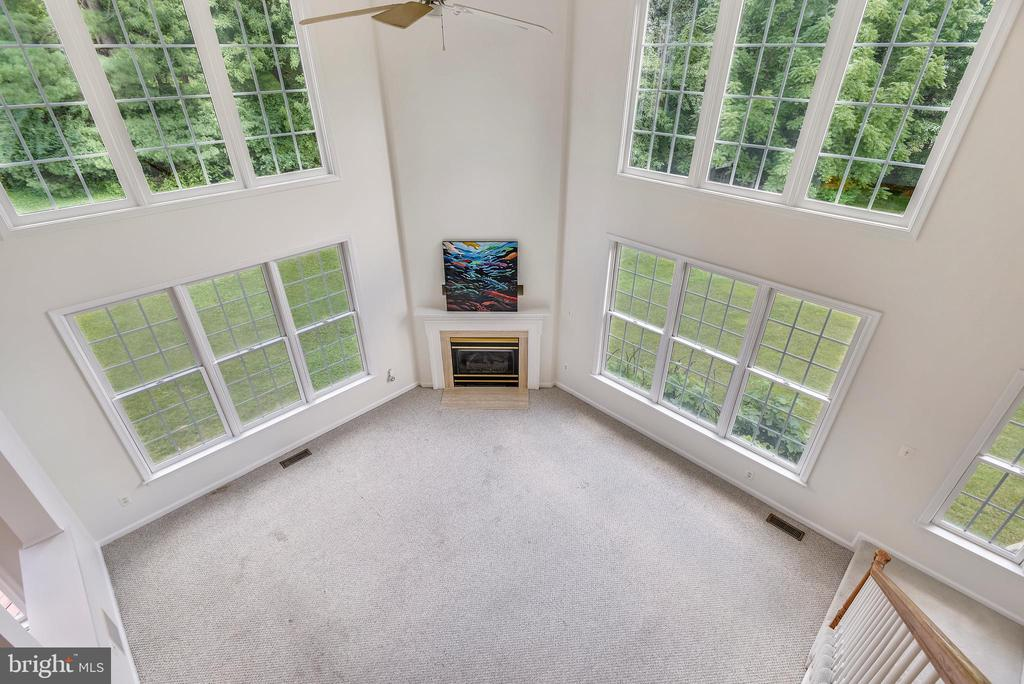 View from bedroom level - 8500 IDYLWOOD VALLEY PL, VIENNA