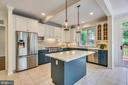 Updated Kitchen with stainless appliances - 8500 IDYLWOOD VALLEY PL, VIENNA