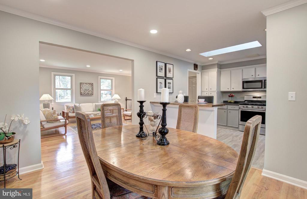 Dining Area - 8700 VENTURA LN, ANNANDALE