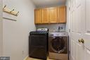 Main level laundry - 6806 HATHAWAY ST, SPRINGFIELD
