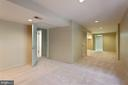 Lower level - 6806 HATHAWAY ST, SPRINGFIELD