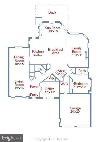 FloorPlan-Main Level - 4785 GRAND MASTERS WAY, WOODBRIDGE