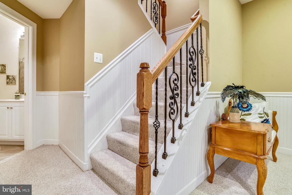 Lower Level-Stairs - 4785 GRAND MASTERS WAY, WOODBRIDGE