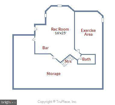 FloorPlan-Lower Level - 4785 GRAND MASTERS WAY, WOODBRIDGE
