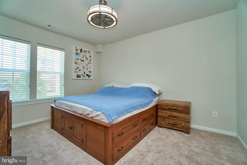 Spacious master bedroom w/ new plush carpet - 20630 HOPE SPRING TER #103, ASHBURN