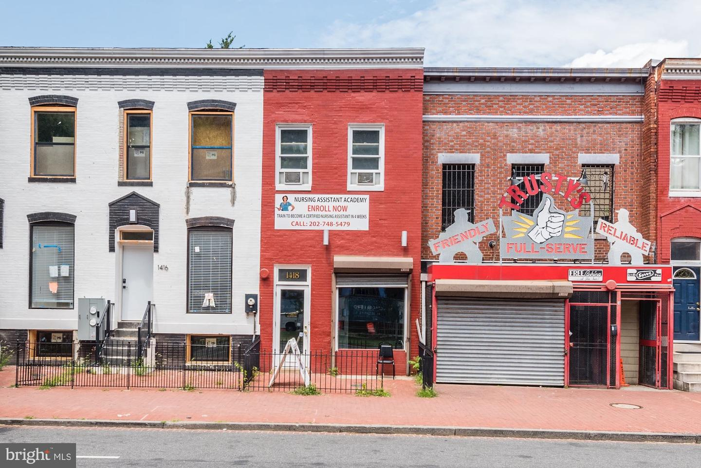 Commercial for Sale at 1418 Pennsylvania Ave SE 1418 Pennsylvania Ave SE Washington, District Of Columbia 20003 United States