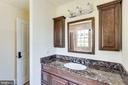 Full bathroom 3 on upper level - 15718 OLD WATERFORD RD, PAEONIAN SPRINGS