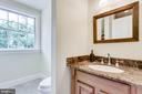 Full bathroom 2 on upper level - 15718 OLD WATERFORD RD, PAEONIAN SPRINGS