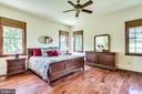 Main level master bedroom is the perfect escape - 15718 OLD WATERFORD RD, PAEONIAN SPRINGS
