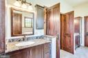 Master bath w/ two vanities & great natural light - 15718 OLD WATERFORD RD, PAEONIAN SPRINGS