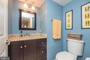 Powder Room has been Updated - 5 WEXWOOD CT, STAFFORD
