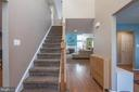 Stairway Leads to Upstairs Bedrooms - 5 WEXWOOD CT, STAFFORD