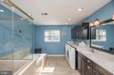 Master Bathroom with Washer/Dryer - 5 WEXWOOD CT, STAFFORD
