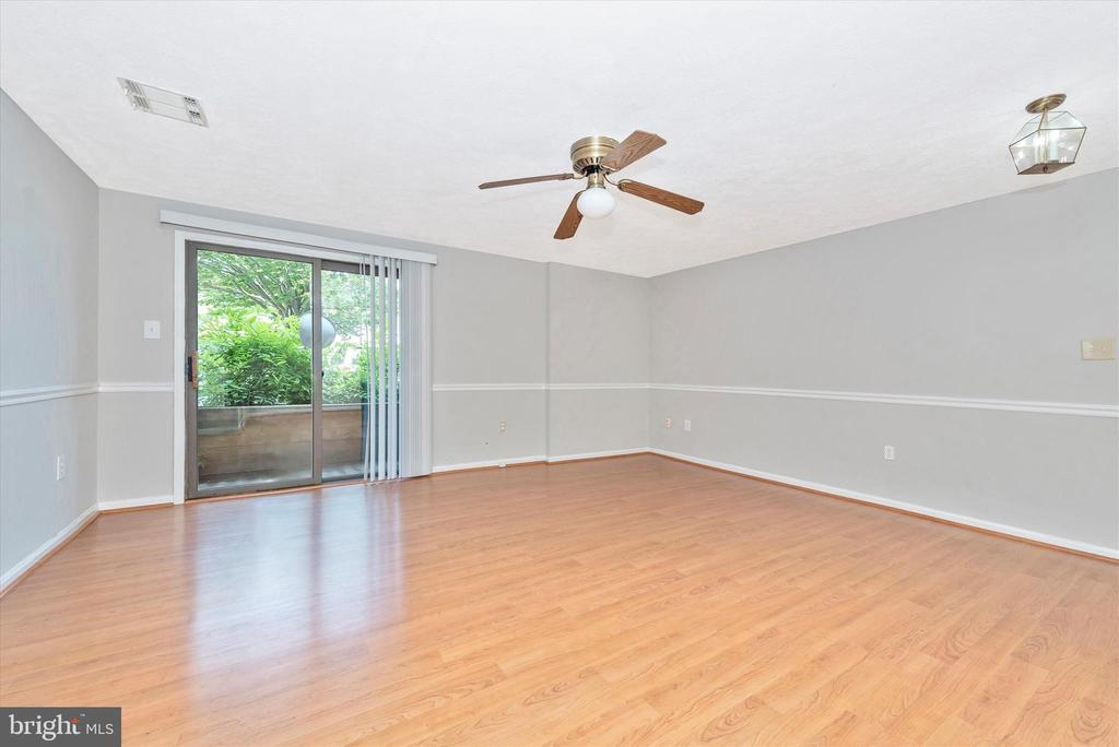 Sliding Door to Private Patio - 809-D STRATFORD WAY #1400D, FREDERICK