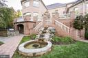 Exterior Rear with Water Feature - 9333 BELLE TERRE WAY, POTOMAC