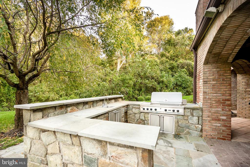 Outdoor Grilling Area - 9333 BELLE TERRE WAY, POTOMAC
